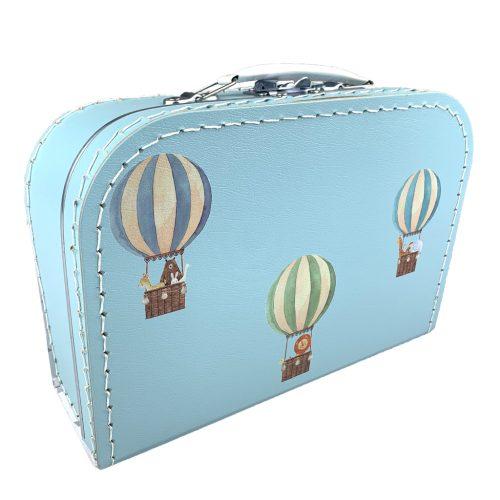 Kartonnen koffertje luchtballonnen