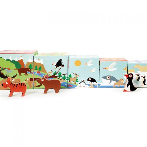 Stapeltoren werelddieren zijkant - Scratch